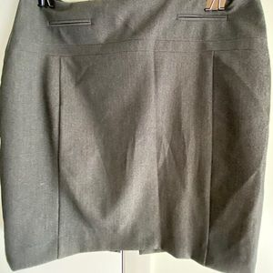 Express gray pencil skirt